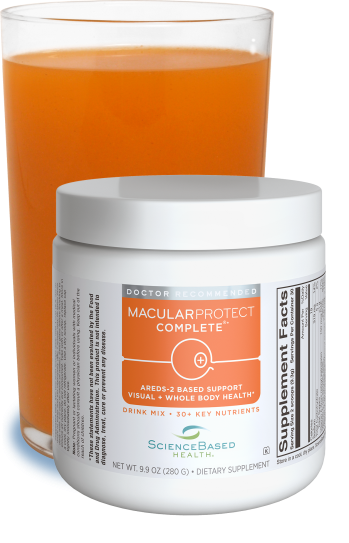 "MacularProtect Complete®<br /><font size=""3""><i>Drink Mix</i></font>"